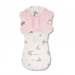 Assise universelle Minky - collection - Papillons