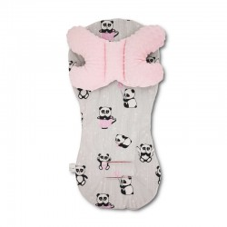 Assise universelle Minky - collection - Panda