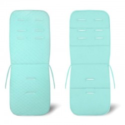Assise poussette velours Velvet - collection - Turquoise