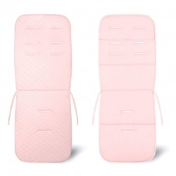Assise poussette velours Velvet - collection - Rose
