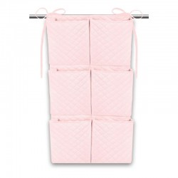 Organiseur de lit bébé - Velours Velvet - Collection Rosa