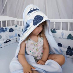 Cape de bain bébé - Collection Voyage