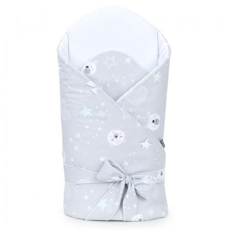 Gigoteuse d'emmaillotage matelassée - nid d'ange de naissance - coton - collection Nounours