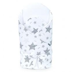 Gigoteuse d'emmaillotage matelassée - nid d'ange de naissance - coton - collection Starmix