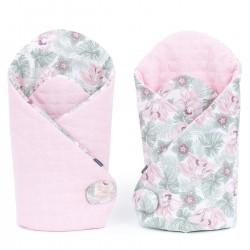 Gigoteuse d'emmaillotage - nid d'ange de naissance - Premium - double gaze - Rosa